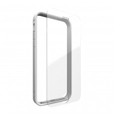 Zagg InvisibleShield Orbit Bumper Case and Glass Screen Protector - iPhone 6/6s - Silver
