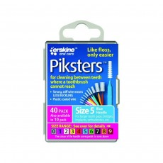 Piksters Interdental Brushes Size 5 Blue 40 Pack