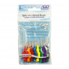 TePe Oral Health Care Interdental Brush Mixed Pack - 6 Pieces