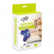 All for Paws Interactives Cat Flutter Bug Refill 6 Pack
