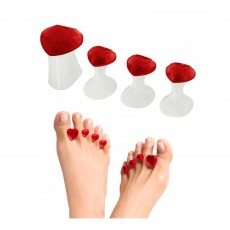 Dip Into Pretty Pedicure Spacers  - Sweet Hearts