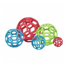 Hol-ee Roller, JW Pet - Durable Rubber Dog Toy