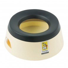 Road Refresher Non-Spill Travel Water Bowl, Small, Cream