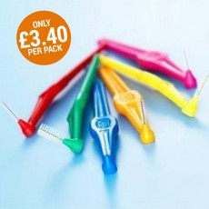 TePe Angle Interdental Brush (60 Brushes) - 10 Pack