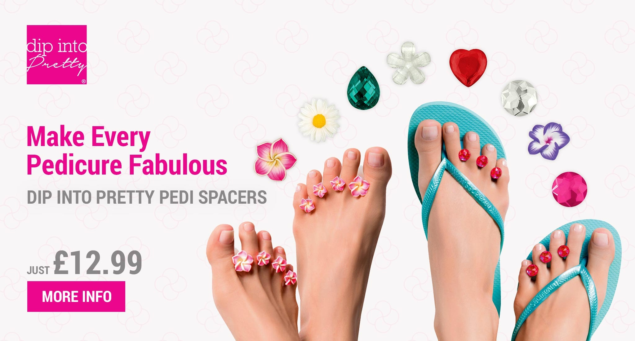 Shop for Dip Into Pretty Pedi-Spacers